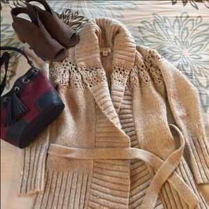 Ann Taylor Loft Wool Cardigan